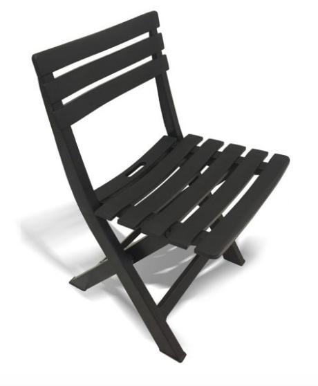 Cadeira Dobrável Desmontável Plástico Rústico Bar Lazer