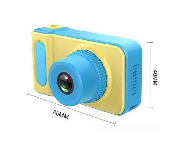Câmera Digital Fotográfica Hd Kids Criança Selfie Infantil