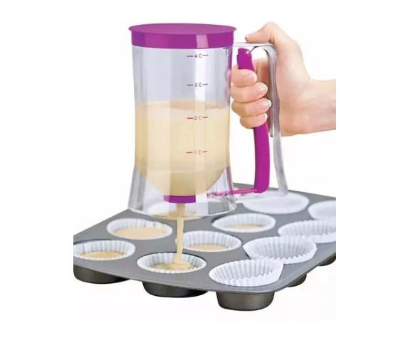 Dispensador De Massas P/ Cupcake Panqueca Batter Dispenser
