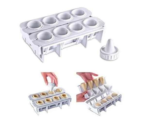 Forma Fábrica Coxinhas Modelador Salgados Cozinha Festas Bar