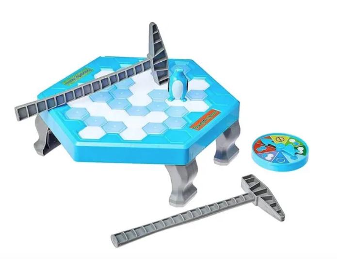 Jogo De Tabuleiro Pinguim Não Cai Pinguin Numa Fria Toy Mix