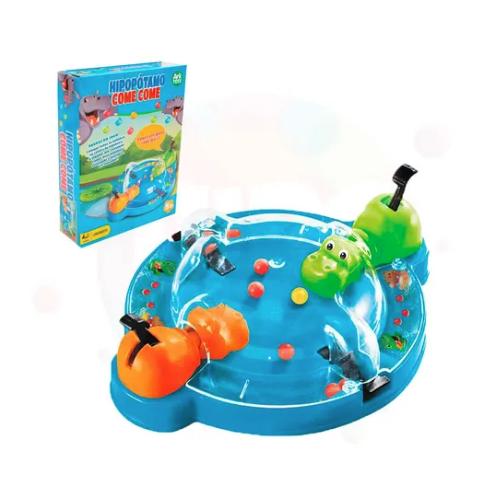 Jogo Hipopótamo Come Come Papa Bolinha Brinquedo Infantil