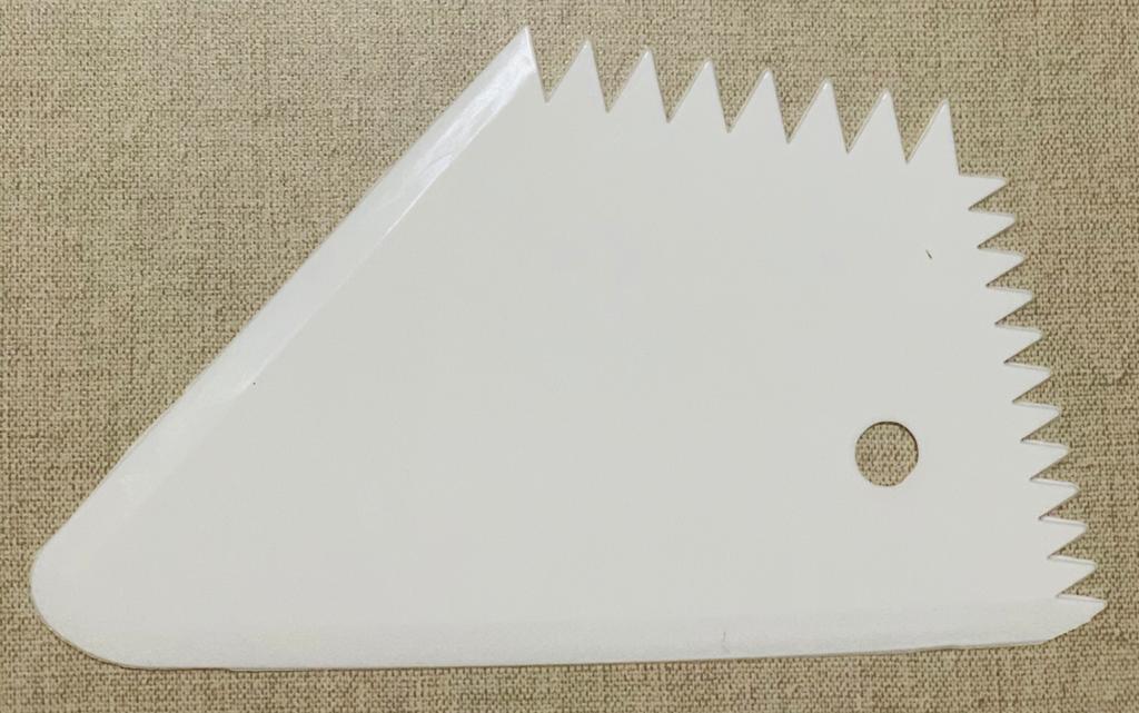 Kit 4 Pçs Raspadores Bolo Confeiteiro Espátula De Plástico