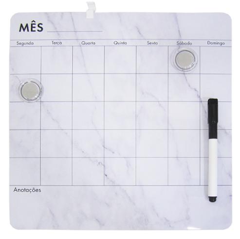 Lousa Magnética Calendário Mensal - FWB