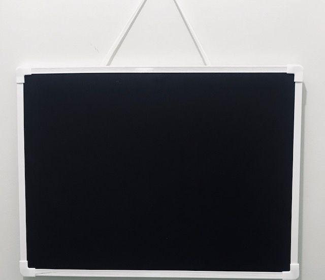Lousa Magnética Calendário Semanal com Quadro Negro- Win Paper