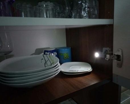 Luminária Led Automática Closet Armário Guarda Roupa