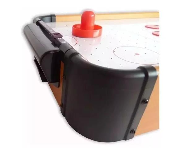 Mini Jogo Mesa De Hockey Air Completo Portátil 34,5x22x7cm