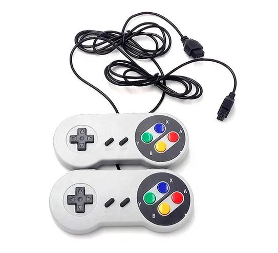 Mini Vídeo Game Retrô Super 8 Bit 2 Controles 400 Jogos