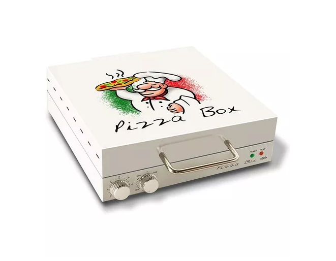 Pizza Elétrica Grill Box Para Assar Pizza Até 30 Cm 110v
