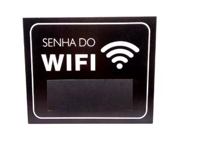 Quadro Decorativo Senha do Wifi