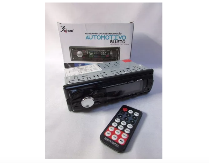 Rádio Automotivo Knup Kp-c15bh Bluetooth 4x25w Rms Som Carro