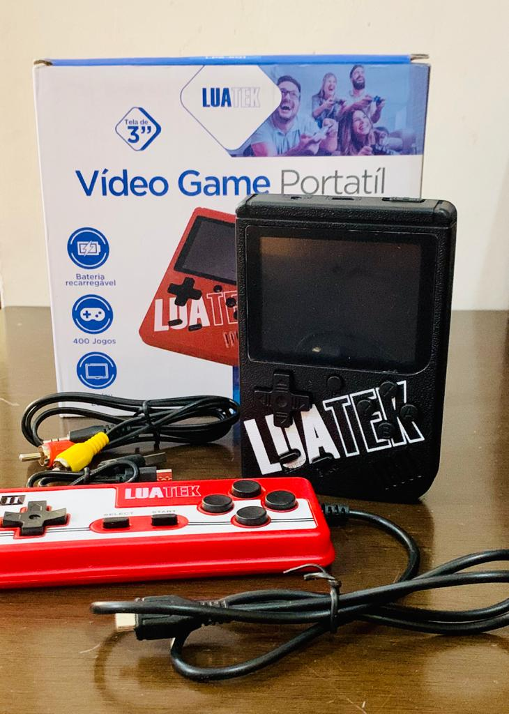 Vídeo Game Portátil 400 Jogos Internos Mini Game Cabo Av
