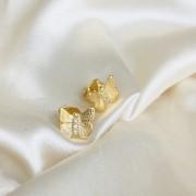 Brinco de Borboleta M Banhado em Ouro 18k