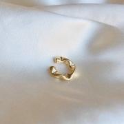 Piercing de Pressão Geométrico Juliette (P) Banhado em Ouro 18k