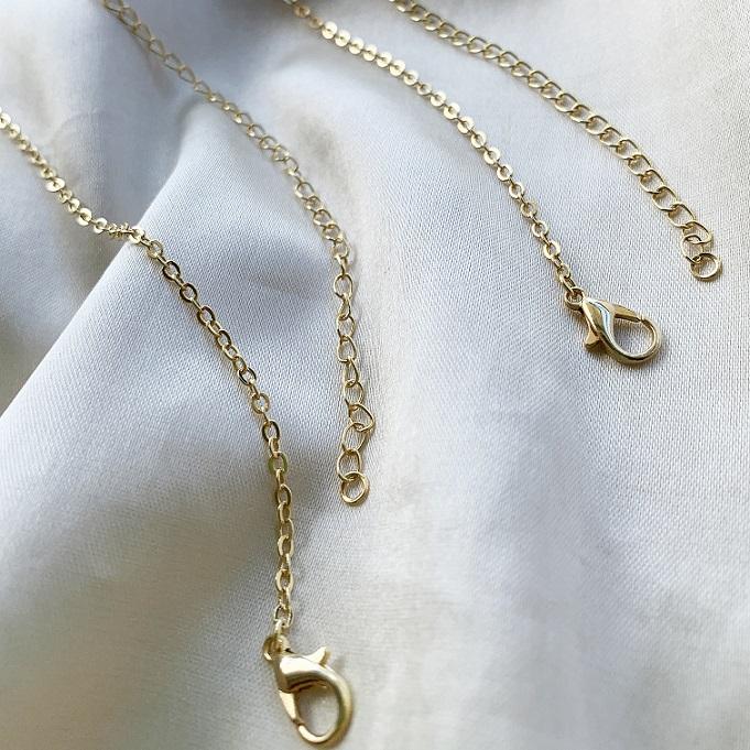 Body Chain Banhado em Ouro 18k