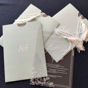 Convite Alana e Fred