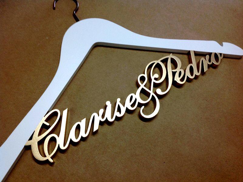 Cabide Clarise e Pedro