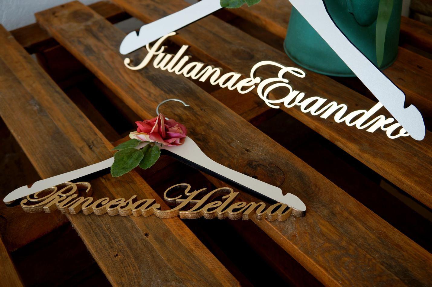 Cabide Juliana e Evandro