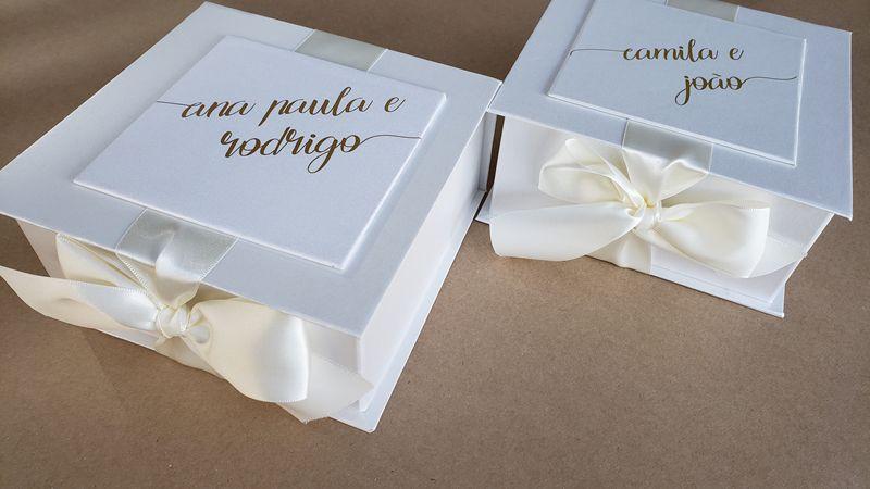 Caixa Ana Paula e Rodrigo