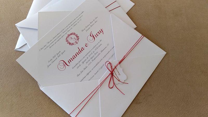 Convite Amanda e Iury