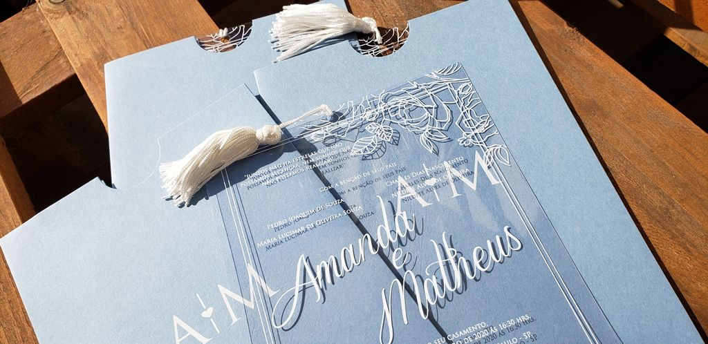 Convite Amanda e Matheus