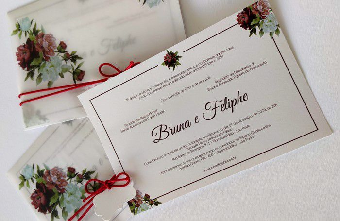 Convite Bruna e Felipe