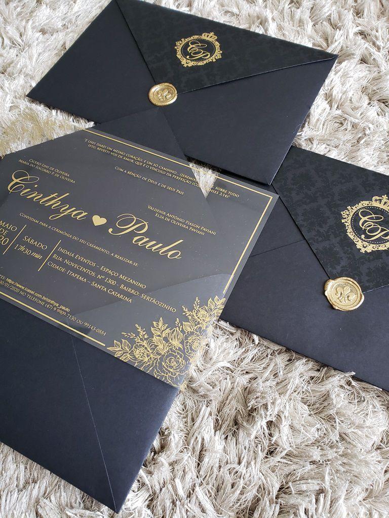 Convite Cinthya e Paulo