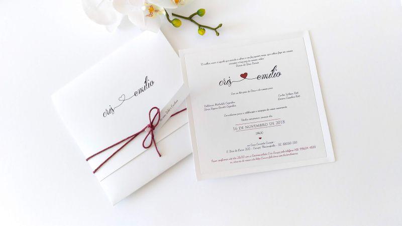 Convite Cris e Emilio