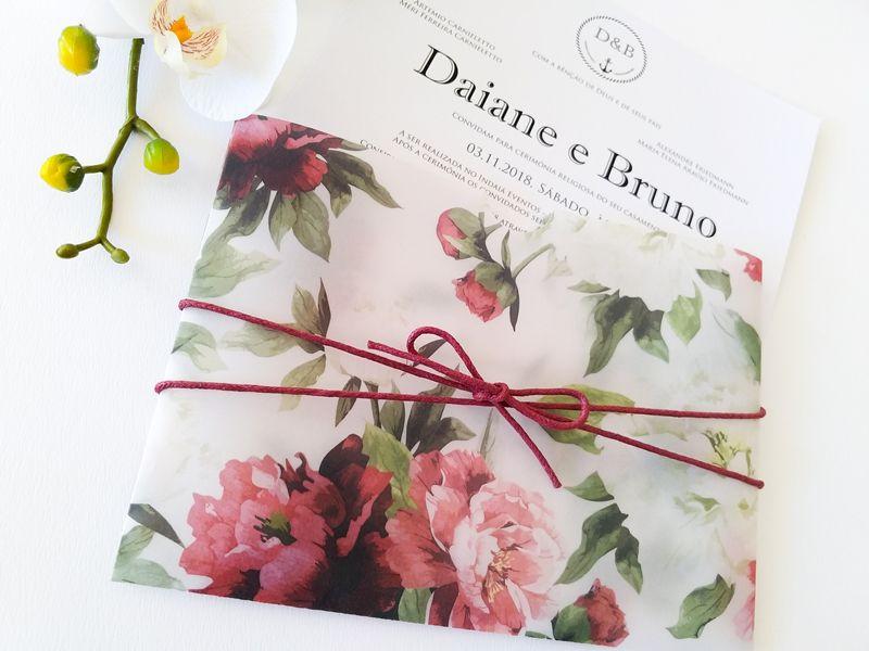 Convite Daiane e Bruno