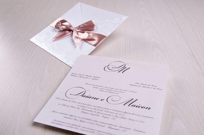 Convite Daiane e Maicon