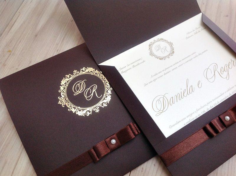 Convite Daniela e Roger