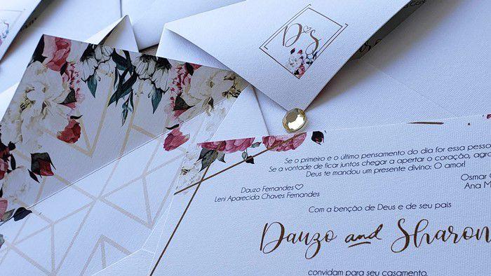 Convite Dauzo e Sharon