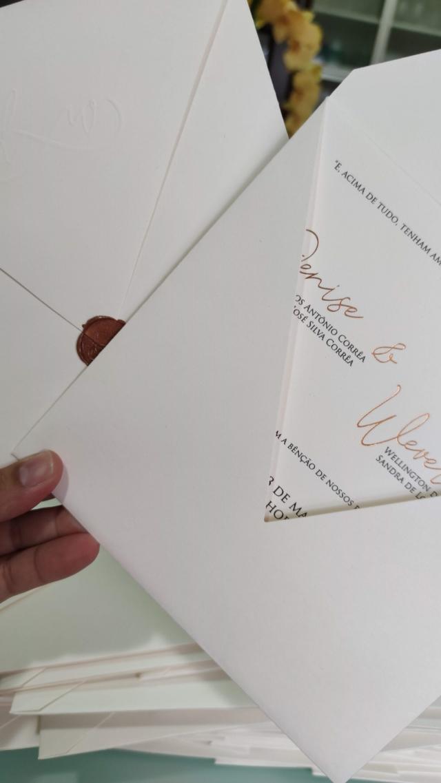 Convite Denise e Wever