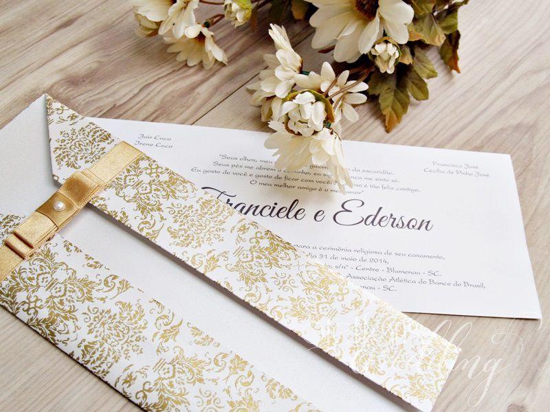 Convite Franciele e Ederson