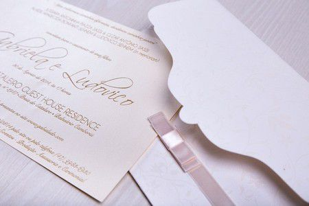 Convite Gabriela e Ludovico