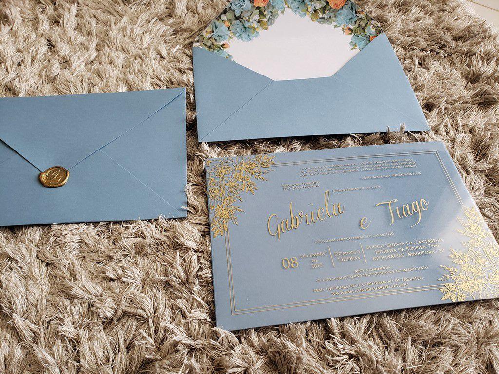 Convite Gabriela e Tiago