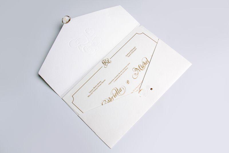 Convite Gabriella e Michel