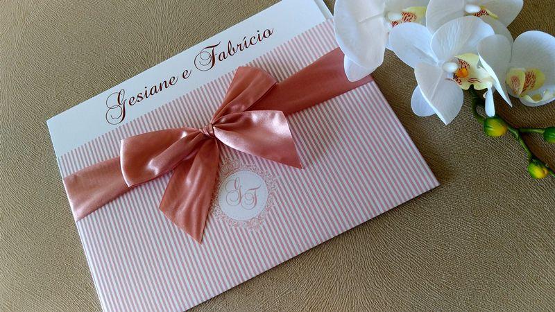 Convite Gesiane e Fabricio