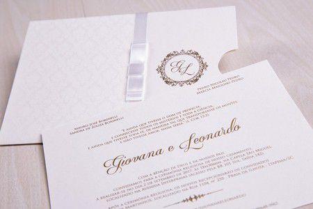 Convite Giovana e Leonardo