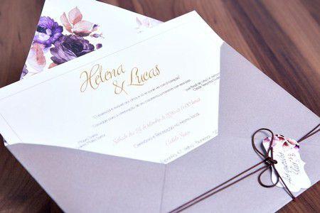 Convite Helena e Lucas