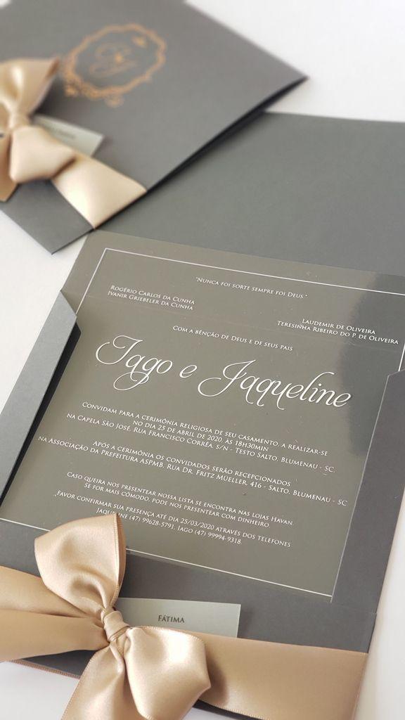 Convite Iago e Jaqueline