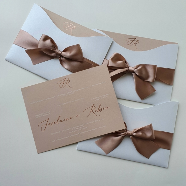 Convite Joselaine e Robson