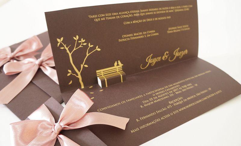 Convite Joyce e Joezer
