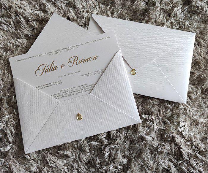 Convite Júlia e Ramon