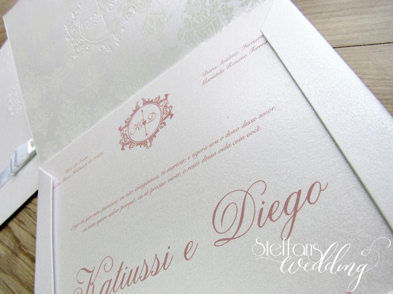 Convite Katiussi e Diego