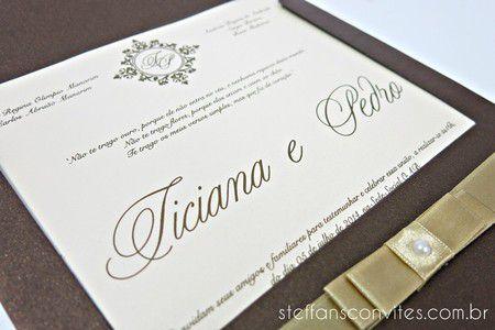 Convite Liciana e Pedro