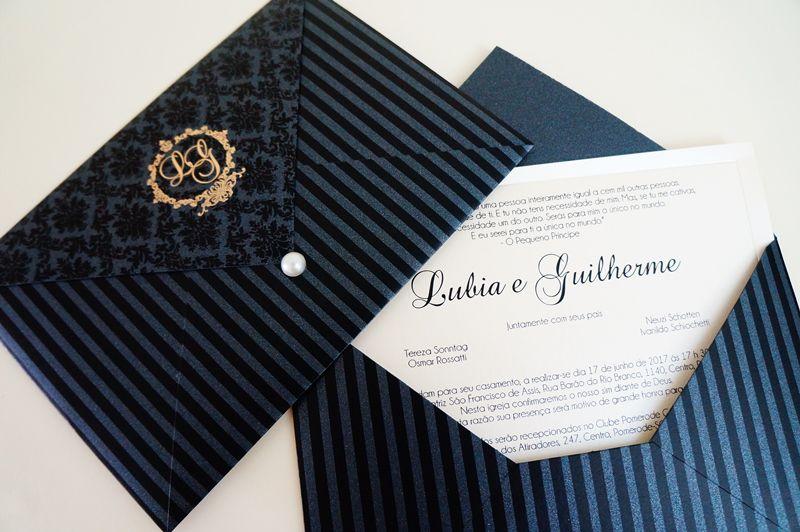 Convite Lubia e Guilherme