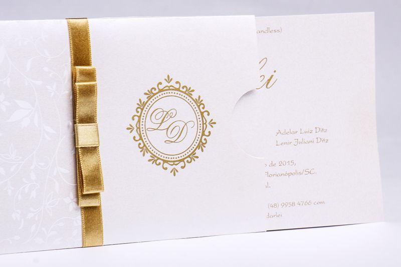 Convite Luiza e Davi