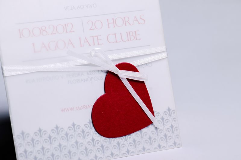 Convite Mariana e Thiago