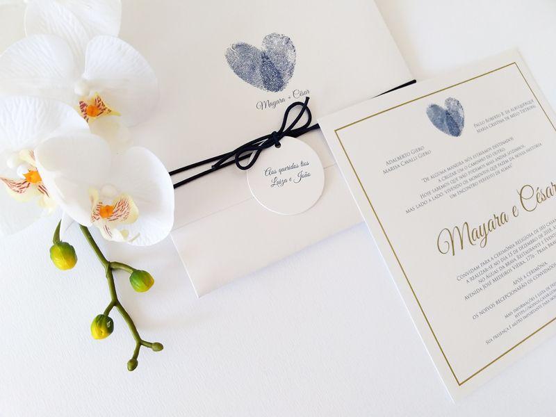 Convite Mayara e César